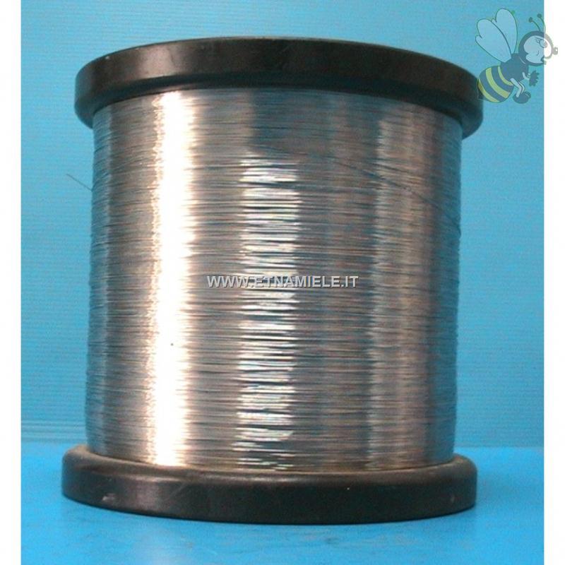 Filo di ferro zincato in bobina peso 14 kg for Prezzo ferro kg
